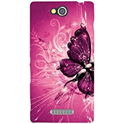 Sony Xperia C Back Cover - Butterfly Designer Cases