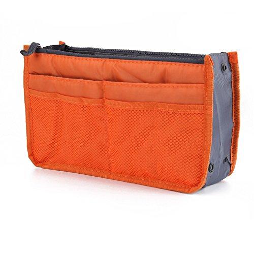 women-travel-insert-handbag-phone-makeup-storage-organiser-purse-tidy-bag-orange
