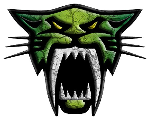ARCTIC-CAT-SABER-CAT-4-X-9-KIT-CRACKED-DARK-GREEN-CHARTREUSE-DARK-GREEN-by-ITIGD-Vinyl-Decal