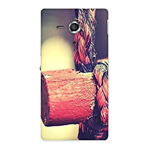 Delighted Rope on Bamboo Back Case Cover for Sony Xperia SP