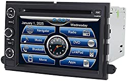See 2005-2009 Ford Mustang 2004-2008 F-150 2005-2010 F-250 F-350 In-Dash GPS Navigation DVD CD Player Bluetooth A2DP Audio Streaming 7 Inch Touchscreen FM AM Radio USB SD iPod-Ready iPhone-Ready Stereo Deck Car Truck SUV AV Receiver Details
