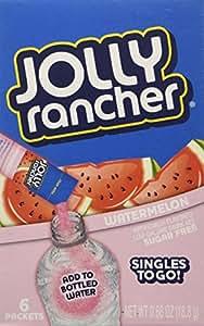 Jolly Rancher Singles To Go Watermelon Drink Mix Sugar