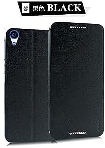 Original Pudini® Black Colour Flip Case For HTC Desire 820 820S 820Q