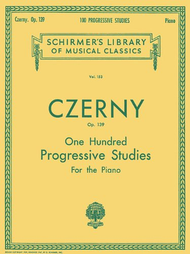 100 Progressive Studies Without Octaves, Op. 139 (Schirmer's Library of Musical Classics)