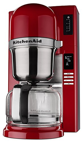 KitchenAid KCM0802ER Pour Over Coffee Brewer, Empire Red