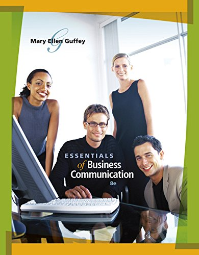 Essentials of Business Communication (Book Only)