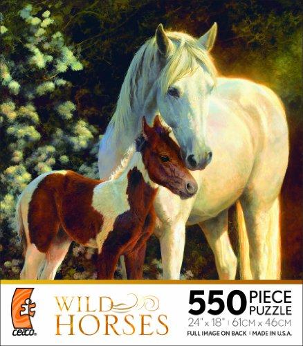 Ceaco Wild Horses-Maxfield's Garden