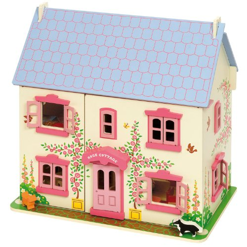 Rose Cottage Wooden Playset