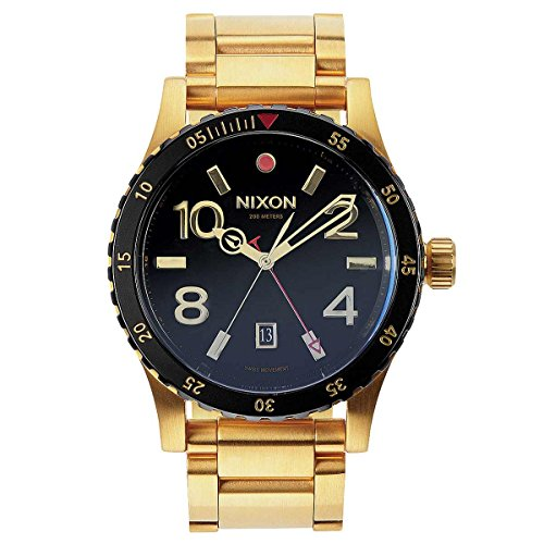 Nixon A277 513 00 Diplomat Ss Gold / Black Watch