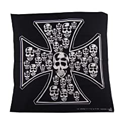 OWN Handkerchiefs Cross Skull Bandanas Headband Bandanas