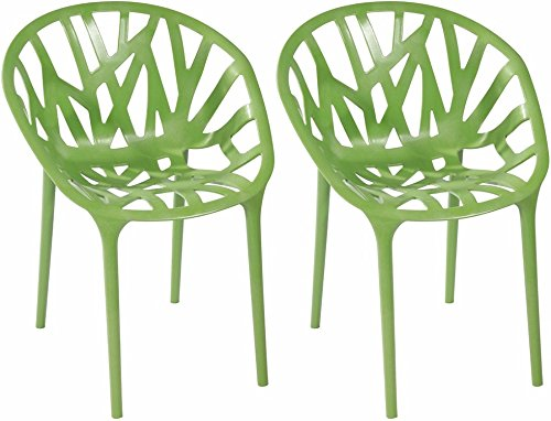 Mod Made Branch Chair, Green, Set of 2 image