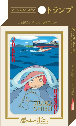 Studio Ghibli Playing Cards -Ponyo on the Cliff Part 2 - 1