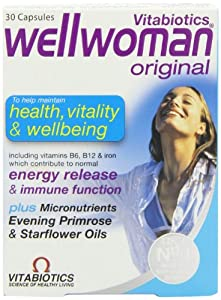 Vitabiotics Wellwoman Original Vitamin & Mineral Formula With Evening Primrose & Starflower Oils 30 Capsules