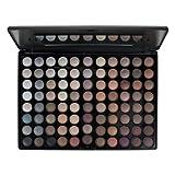 Blush Professional 88 Colour Earth Tones Eyeshadow Palette