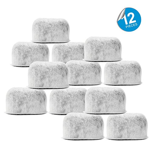 Pack of 12 Replacement Charcoal Water Filters for Cuisinart Coffee Machines By Housewares Solutions (Charcoal Coffee Pot Water Filters compare prices)