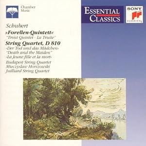 """Schubert : Quintette """"La Truite"""" - Quatuor """"La Jeune Fille et la Mort"""""""