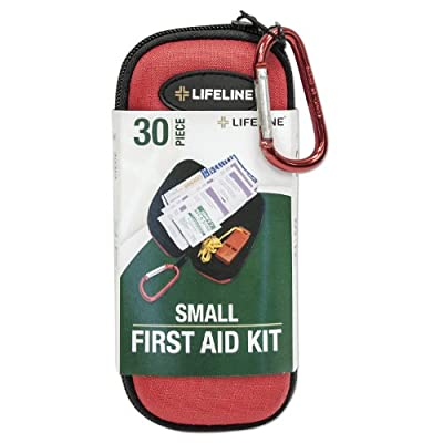 Lifeline 30-Piece First Aid Kit (Red) by yourpersonalsecuritystore