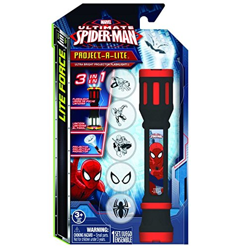 Spiderman Project A Lite LED Flashlight Projector Toy - 1