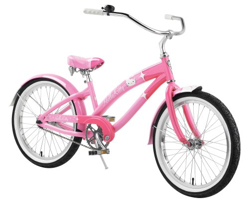 Nirve Hello Kitty Special Edition Retro Kitty Girls' Cruiser Bike (20Inch Wheels)