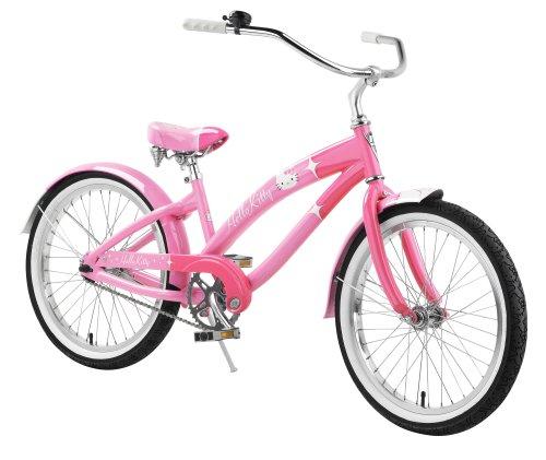 Nirve Hello Kitty Special Edition Retro Kitty Girls' Cruiser Bike (20-Inch Wheels)