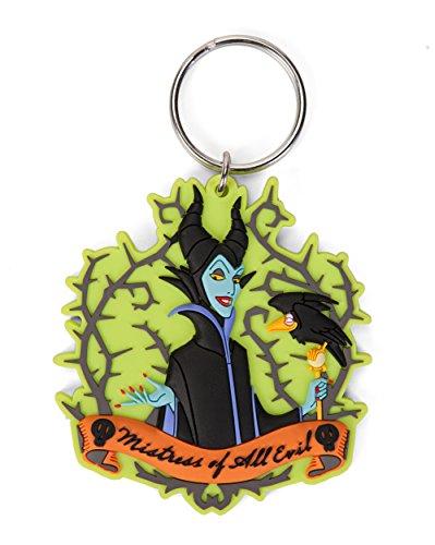 Disney Villains Maleficent Soft Touch PVC Portachiavi