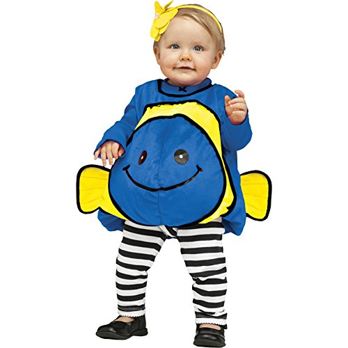 Morris Costumes Halloween Party Blue Fish Infant 12-24 Months front-915871