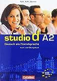 Studio D A2: Kurs- Und Ubungsbuch Teilband 1: Deutsch Als Fremdsprache