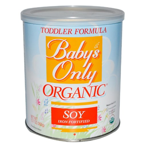 Baby'S Only - Organic Soy Toddler Formula Iron Fortified - 12.7 Oz. ( Multi-Pack)