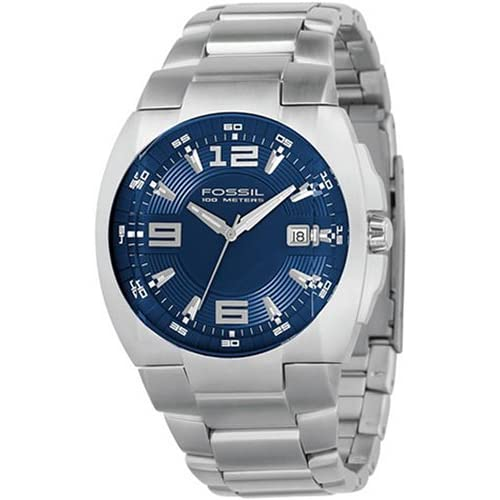 Amazon.com: Fossil Blue Dial Mens Watch AM4060