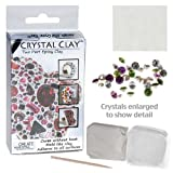2 Part Epoxy Crystal Clay Incl 36 Swarovski 1028 Elements WHITE 45115