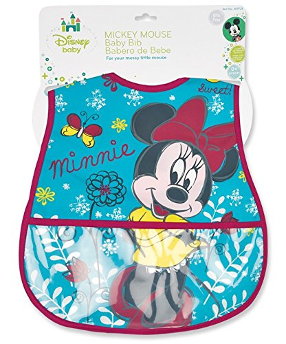 Minnie Mouse Deluxe Crumbcatcher Bib