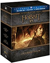 Lo Hobbit - La Trilogia (3D) (Extended Edition) (6 Blu-Ray 3D+9 Blu-Ray)