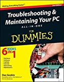img - for Troubleshooting & Maintaining Your PC All-in-One For Dummies by Dan Gookin (2011-06-24) book / textbook / text book