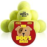Der Hundeball - 12 Pack extra haltbare Tennisbälle für Hunde