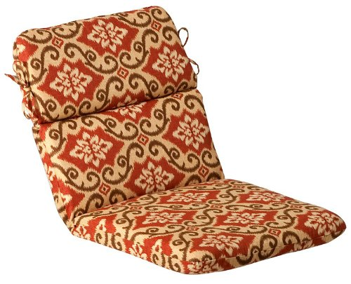Outdoor Patio Furniture High Back Chair Cushion - Vintage Tuscan front-963058