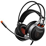 SADES Stereo Gaming Headset SA708 GT Version Over Ear Computer Headphone With Mic For Laptop PC Mac PS4 IPad IPod Phones Black Blue Sa929organe Sa929organe