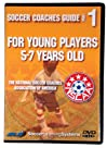 NSCAA Soccer Coaches Guide for 5-7 Year Olds DVD