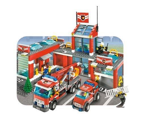 Lego Fire Station Deals On 1001 Blocks