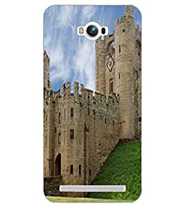 ASUS ZENFONE MAX CASTLE Back Cover by PRINTSWAG