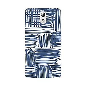 Garmor Designer Silicon Back Cover For Reliance Lyf Flame 4