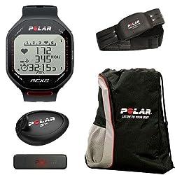 Polar 90038884 RCX5sd - RUN in Black With Cinch Bag from Polar