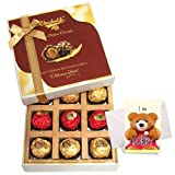 Charm In Bites Gift Box With Sorry Card - Chocholik Belgium Chocolates