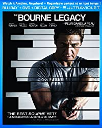 The Bourne Legacy / La peur dans la peau: L'héritage de Bourne [Blu-ray + DVD + Digital Copy + UltraViolet]