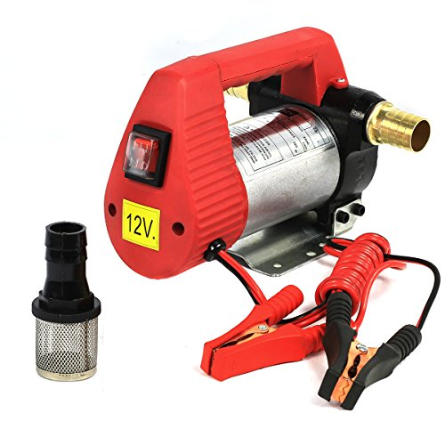 12v 10.6 GPM Oil, Diesel, Biodiesel and Kerosene Transfer Self-priming Pump (12v Oil Transfer Pump compare prices)