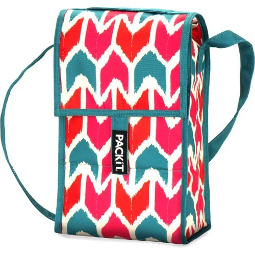 PackIt Ikat 2 Bottle Freezable Wine Bag - 1