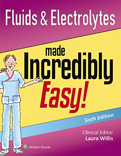 fluids-electrolytes-made-incredibly-easy-incredibly-easy-seriesr