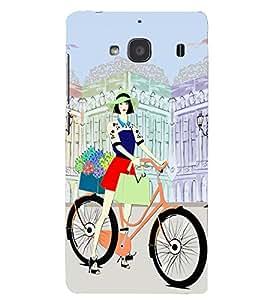 PRINTSHOPPII GIRL Back Case Cover for Xiaomi Redmi 2S::Xiaomi Redmi 2::Xiaomi Redmi 2 Prime