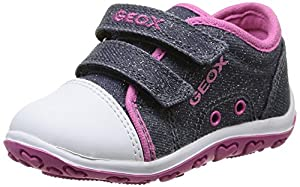 Geox B Bubble C - Primeros Pasos de material sintético Bebé - niña - Bebe Hogar