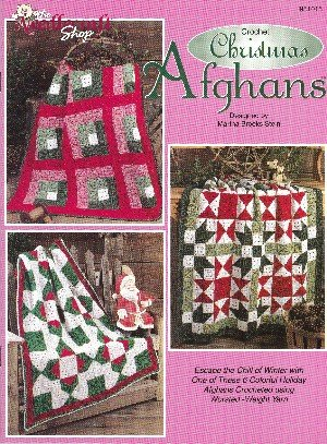 Crochet Christmas Afghans (Crochet Granny Style Afghans, The Needlecraft Shop)
