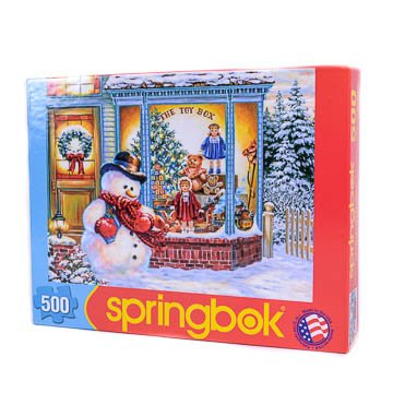 51zI6jIJdZL Cheap Price Frostys Toy Box   500pc Jigsaw Puzzle by Springbok